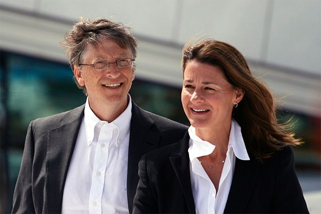 Billionaire Power Couple Bill & Melinda Gates