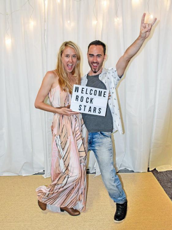 Jodie Reece Welcome Rockstars