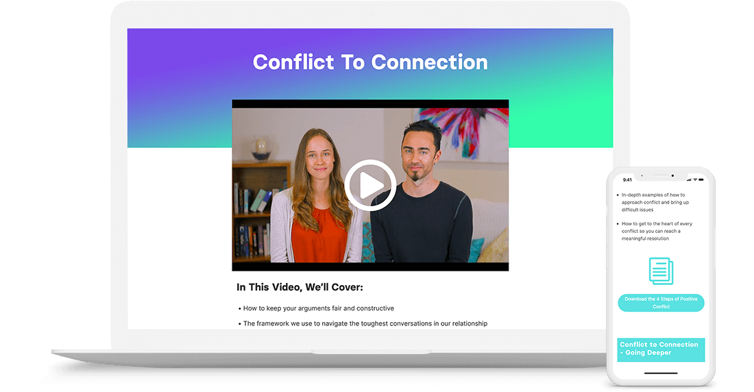 conflict to connection communication course